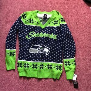seattle seahawks sweater